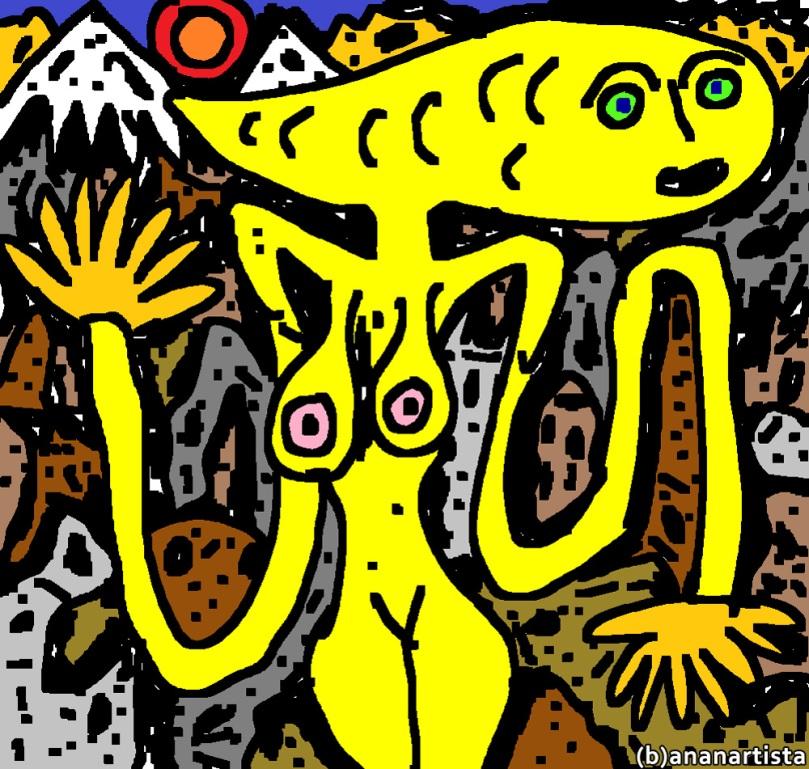 (b)ananartista nude