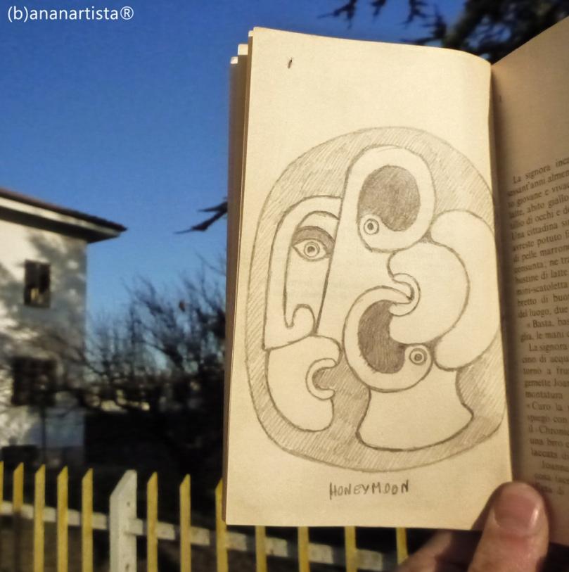 """MY HONEYMOON"" - (b)ananartista® SBUFF - www.bananartista.com"