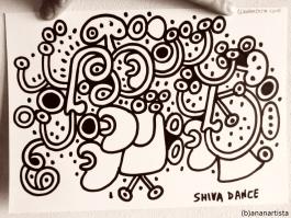 """""""SHIVA DANCE"""" - (b)ananartista orgasmo SBUFF - www.bananartista.com"""