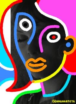 """""""L'AMANTE"""" - (b)ananartista orgasmo Sbuff - digital art - www.bananartista.com"""
