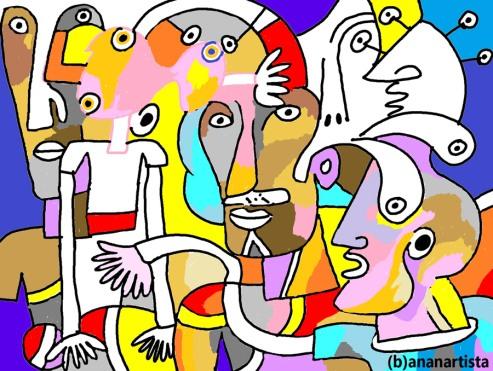 """COSTANTINOPOLI"" - (b)ananartista orgasmo Sbuff - digital art - www.bananartista.com"