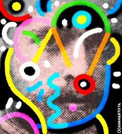 """DOKTOR PAN"" - (b)ananartista orgasmo Sbuff - digital art - www.bananartista.com"