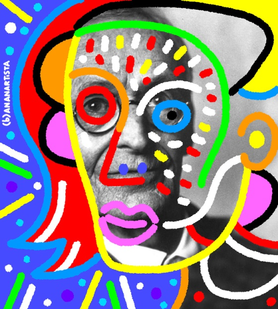 """HERMANN HESSE"" - (b)ananartista orgasmo Sbuff - digital art - www.bananartista.com"