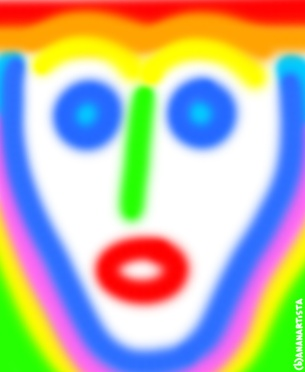 """IL MILITE IGNOTO"" - (b)ananartista orgasmo Sbuff - digital art - www.bananartista.com"