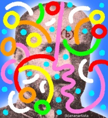"""PAN PAN DOKTOR PAN"" - (b)ananartista orgasmo Sbuff - digital art - www.bananartista.com"