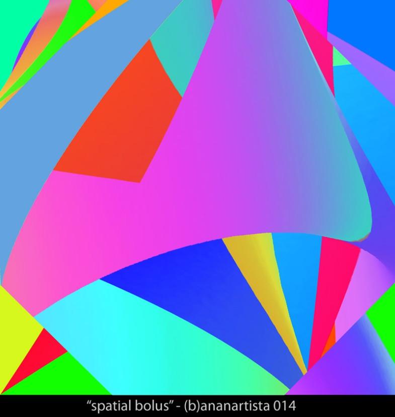 """""""spatial bolus"""" - (b)ananartista sbuff 2014"""