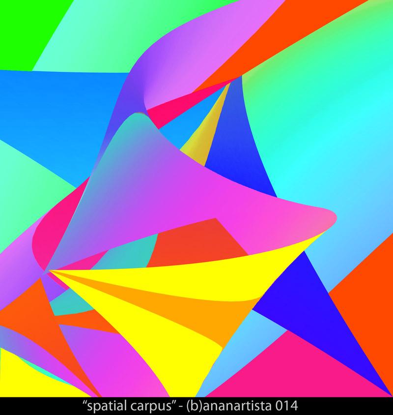 """spatial carpus"" - (b)ananartista sbuff 2014"