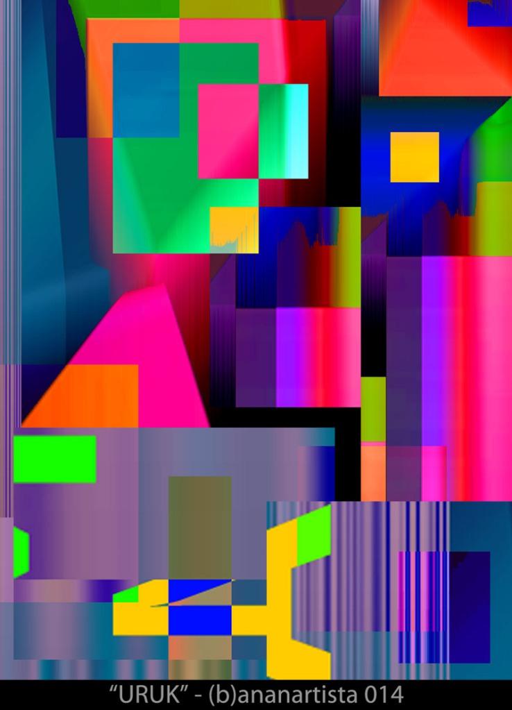 """THE TEMPLE"" - mixed digital media - (b)ananartista orgasmo SBUFF 20014"
