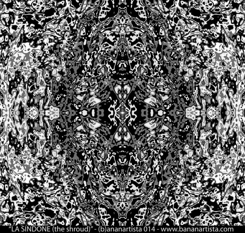 """LA SINDONE (the shroud)"" - (b)ananartista SBUFF 2014 - www.bananartista.com"