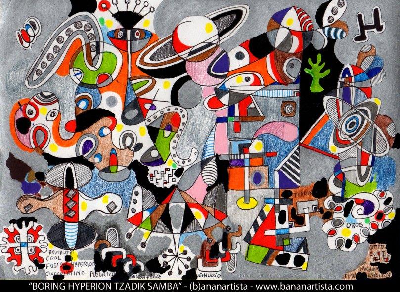 tzadik hyperion john zorn plagiarism abstract avant-garde experimental outsider art by (b)ananartista  sbuff
