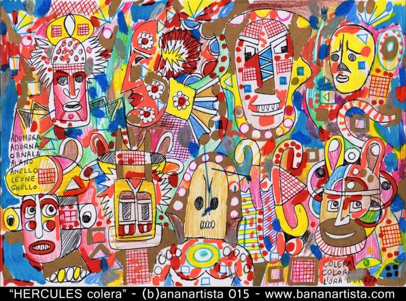 hercules horror africa avant-garde art by (b)ananartista sbuff