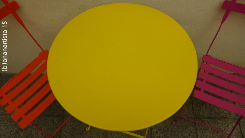 il cerchio giallo table abstract photography  by (b)ananartista