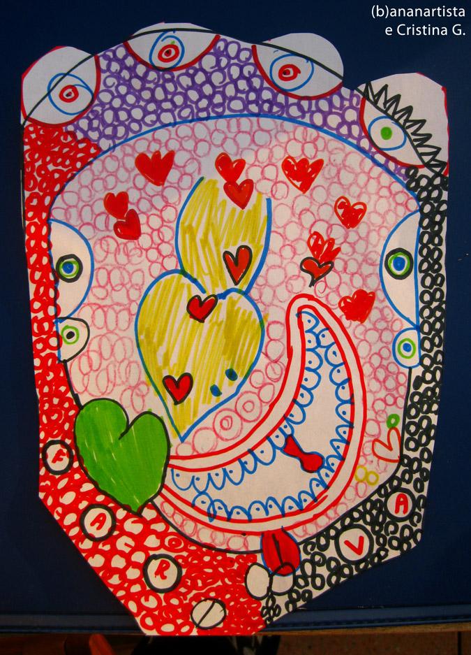 fotografia d'arte e composizione di (b)ananartista orgasmo sbuff