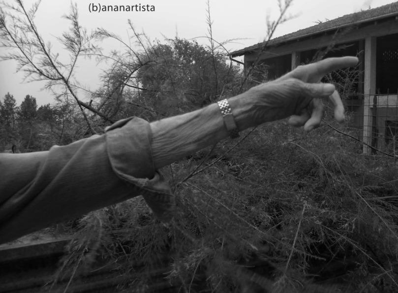 IL BRACCIO DI ANTONIO ritratto fotografico di (b)ananartista sbuff © 2015 all rights reserved