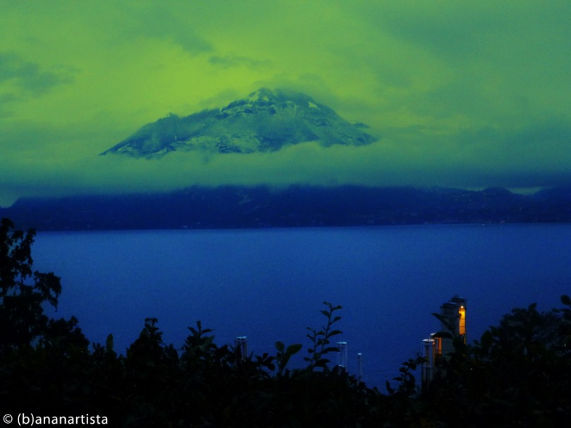 THE SILENT VOLCANO landscape digital photography by (b)ananartista sbuff © 2015 all rights reserved
