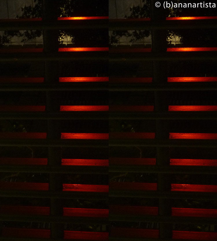 THE RED GRID abstract photography by (b)ananartista sbuff © 2015 all rights reserved