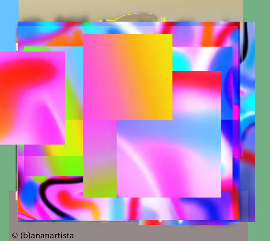 MUSIC digital art by (b)ananartista sbuff © 2015 all rights reserved