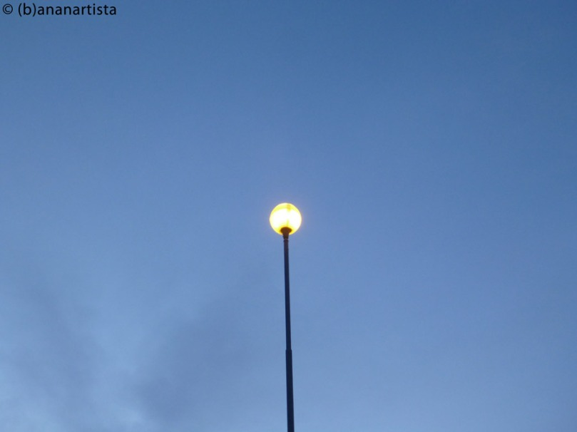 THE STREET LAMP still life photography by (b)ananartista sbuff © 2016 all rights reserved