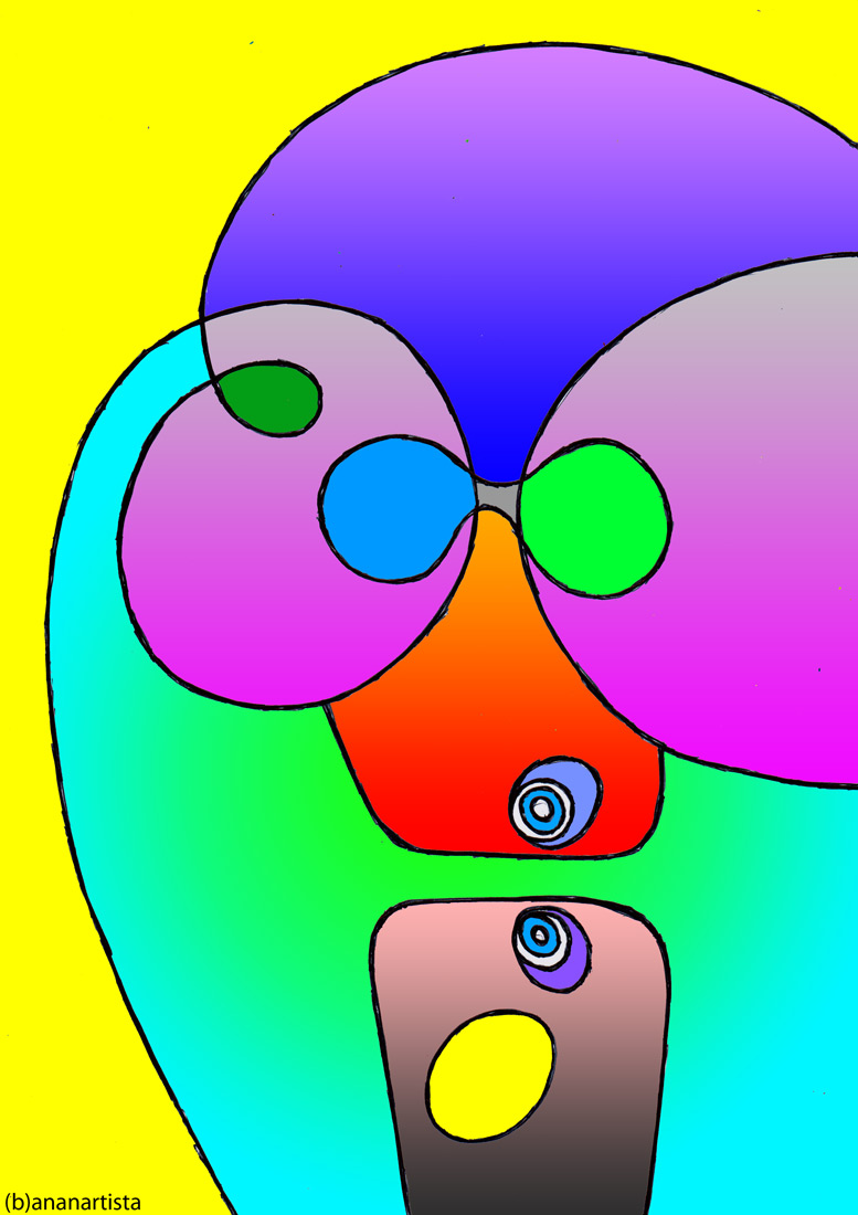 omega null point tunnel noosphere: abstract artwork by (b)ananartista sbuff