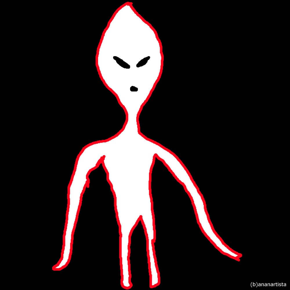 Alien: digital painting by (b)ananartista sbuff