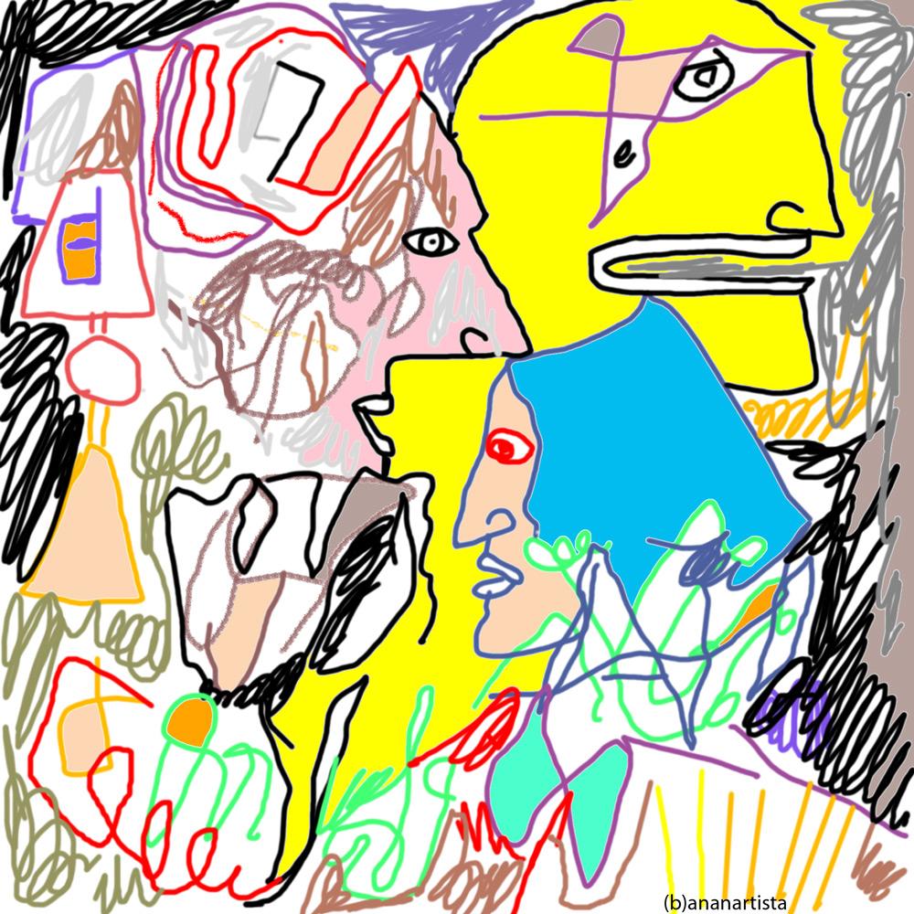 Rinascimento: digital artwork by (b)ananartista sbuff