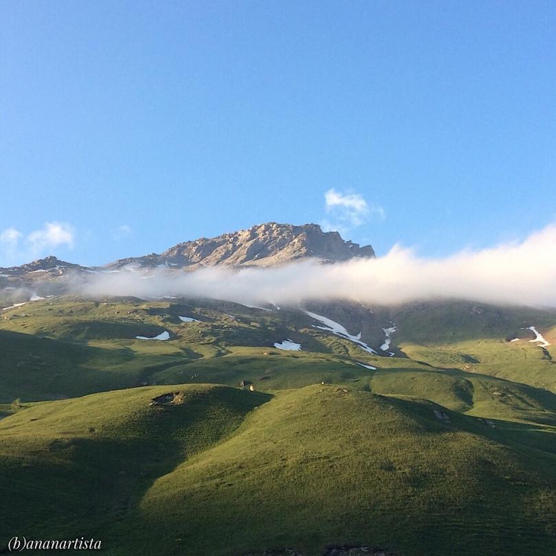 la classica foto di montagna