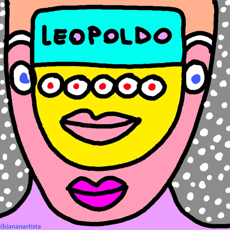 leopoldo outsider digital painting portrait by (b)ananartista sbuff