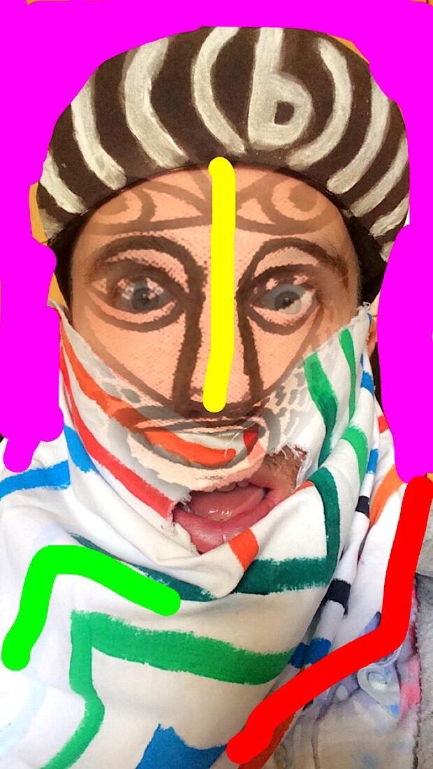 self-portrait of (b)ananartista sbuff