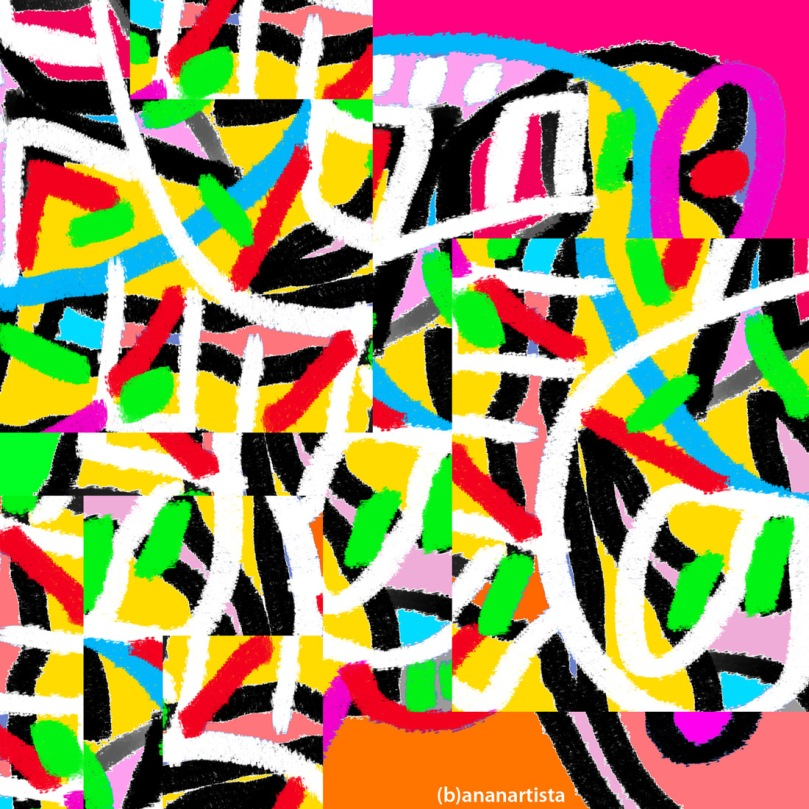 head orgasm: abstract digital painting by (b)ananartista sbuff