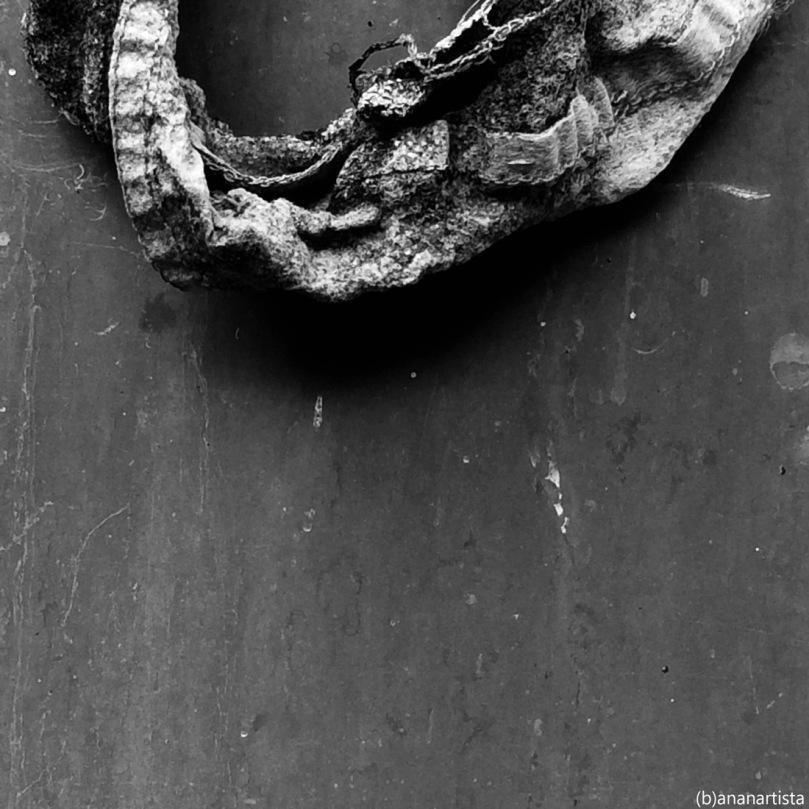 Dans le miroir de l'éternité #03: abstract minimal black and white photography art by (b)ananartista sbuff