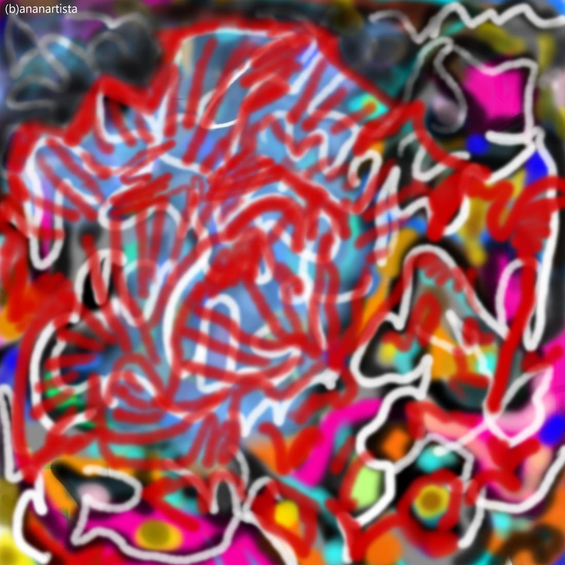 coral reef: digital painting art by (b)ananartista sbuff