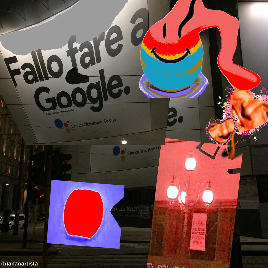 horrible art #04: fallo fare a google foto urbana di (b)ananartista sbuff