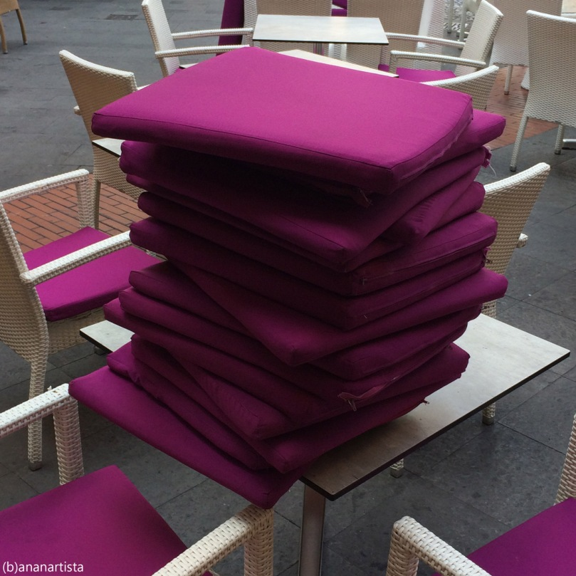 purple pillows pile: weird minimal photography art by (b)ananartista sbuff