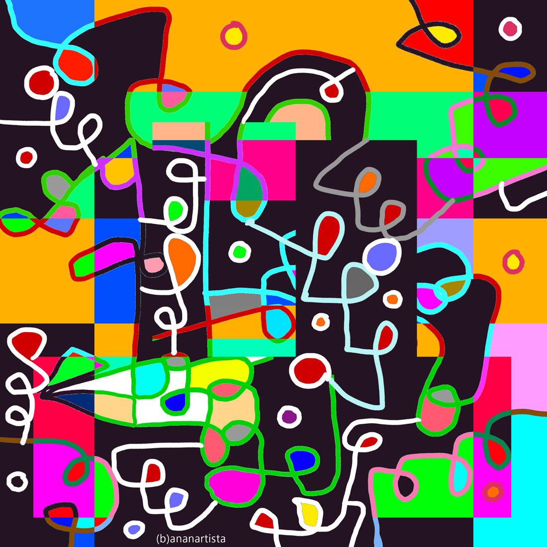 pattern musicale incoerente: digital painting by (b)ananartista sbuff
