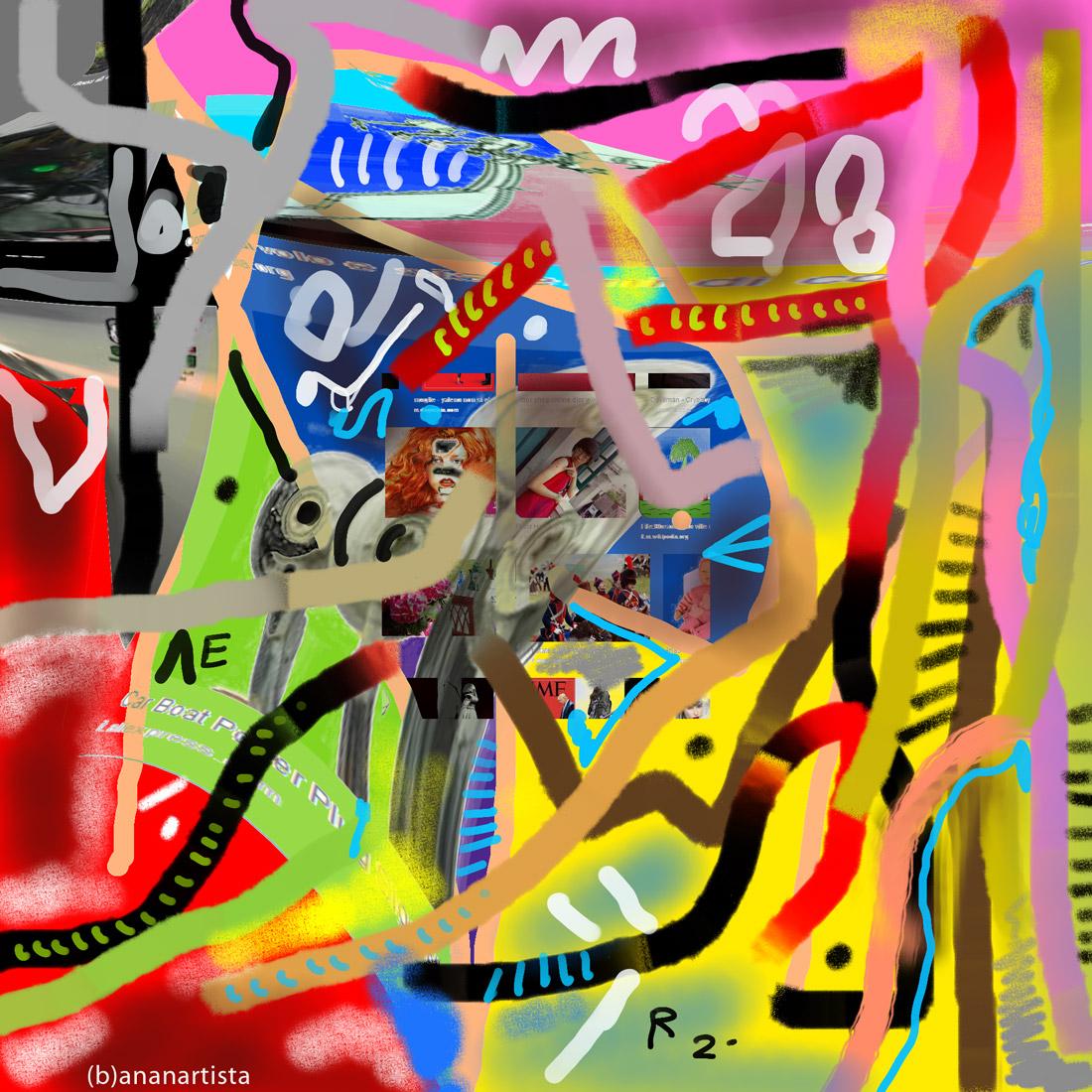 internet piangente: digital art by (b)ananartista sbuff