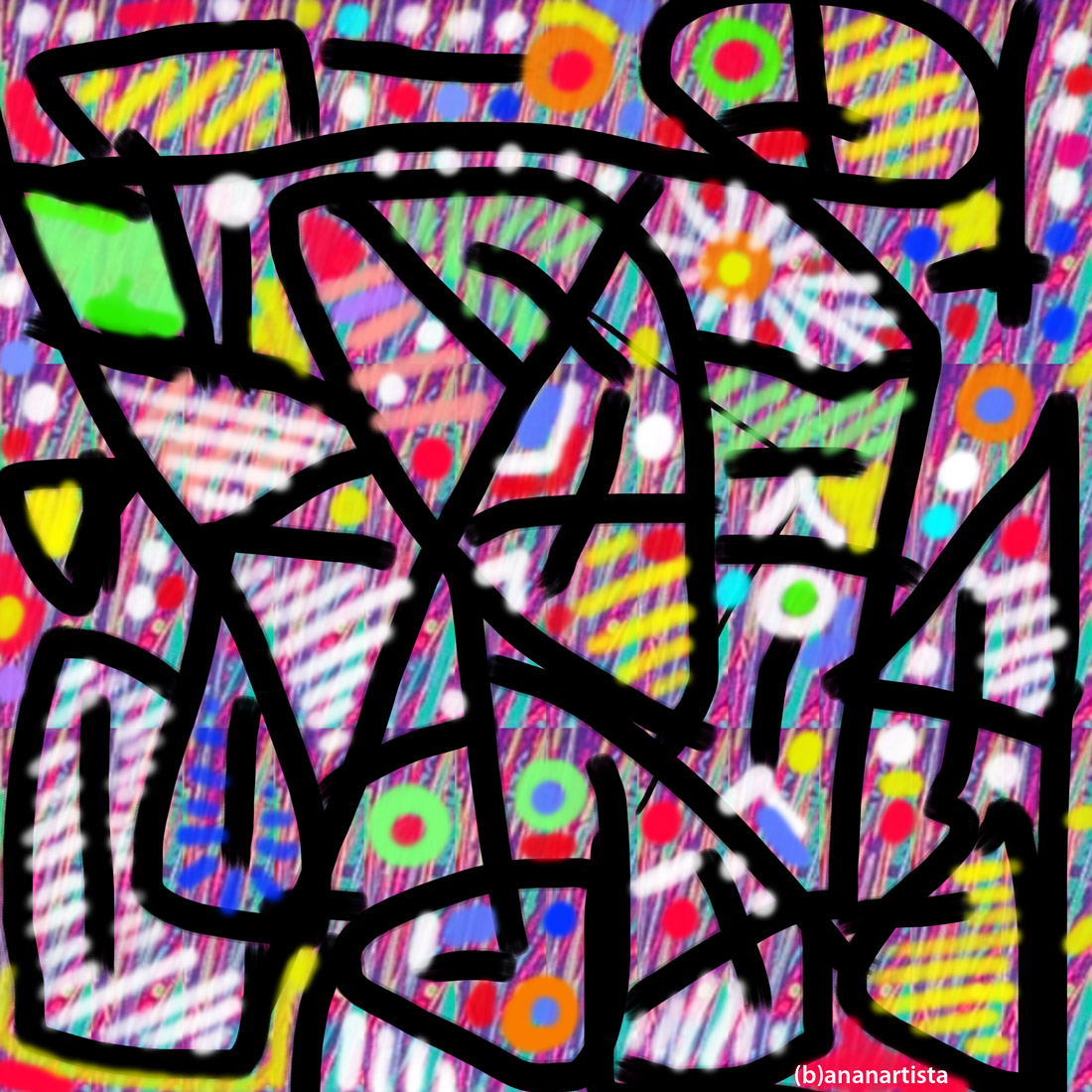 endoplasmic reticulum: digital painting by (b)ananartista sbuff