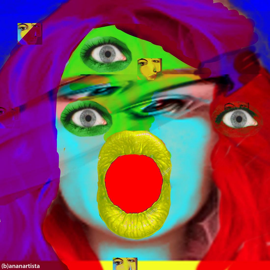 Un tipo di ragazza: digital art by (b)ananartista sbuff