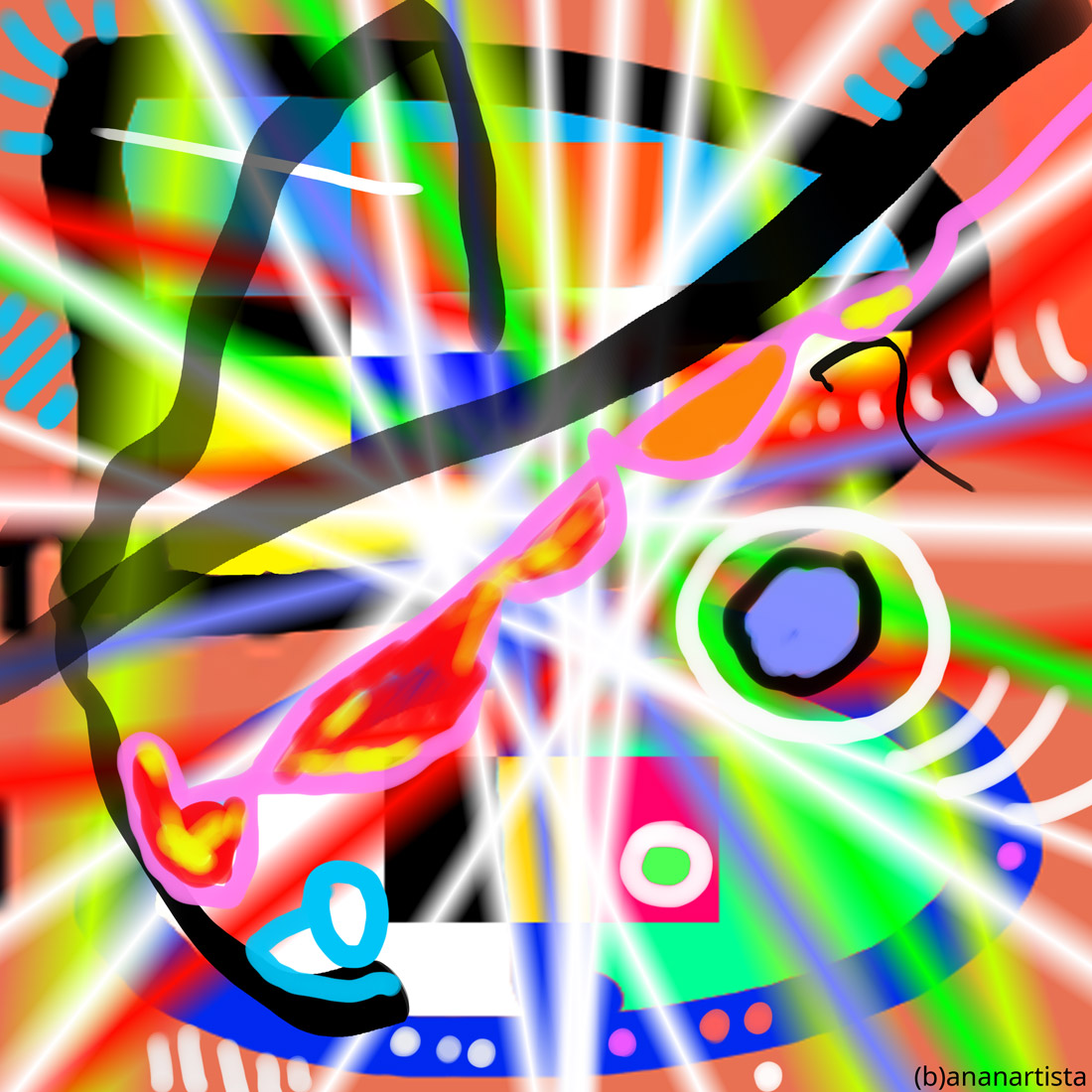 objekten fascinans dna dasein: abstract digital art by (b)ananartista sbuff