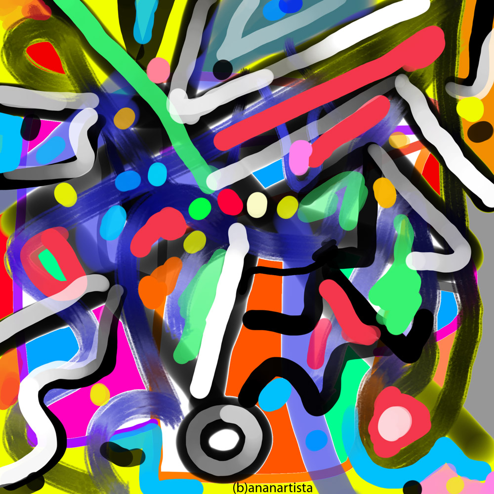étincelles: digital painting art by (b)ananartista sbuff