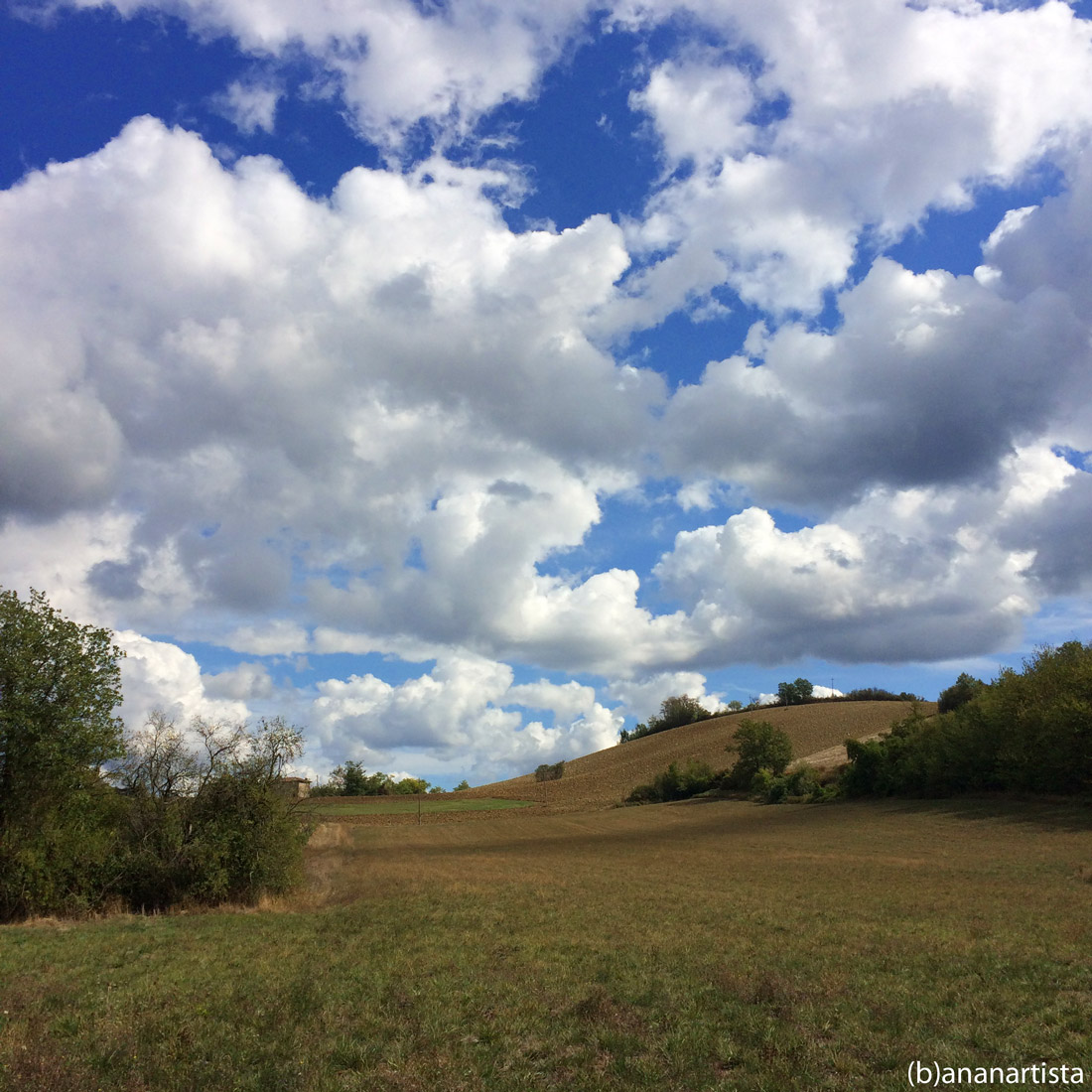 landscape with clouds: photography by (b)ananartista sbuff