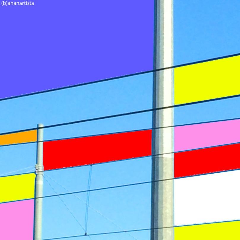 reticolo elettrico colorato: fotografia astratta di (b)ananartista sbuff