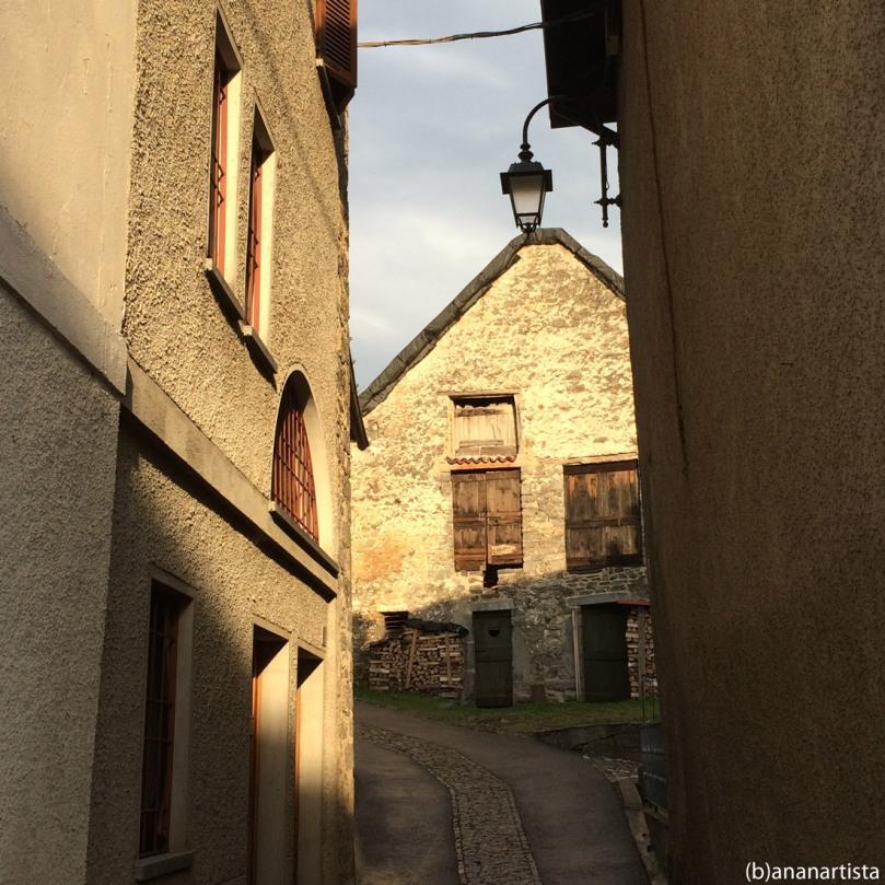 villaggio alpino: fotografia di (b)ananartista sbuff
