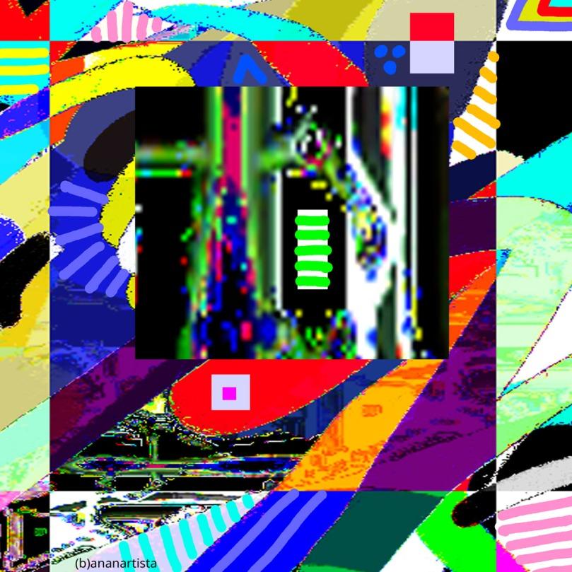 advaita vedanta: abstract art by (b)ananartista