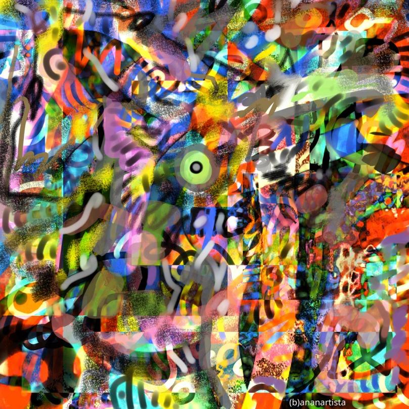 futurismo digital painting art by (b)ananartista sbuff