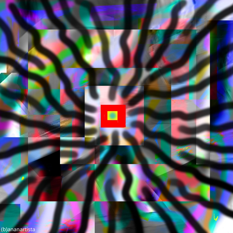 logos spermatikos abstract digital art by (b)ananartista sbuff