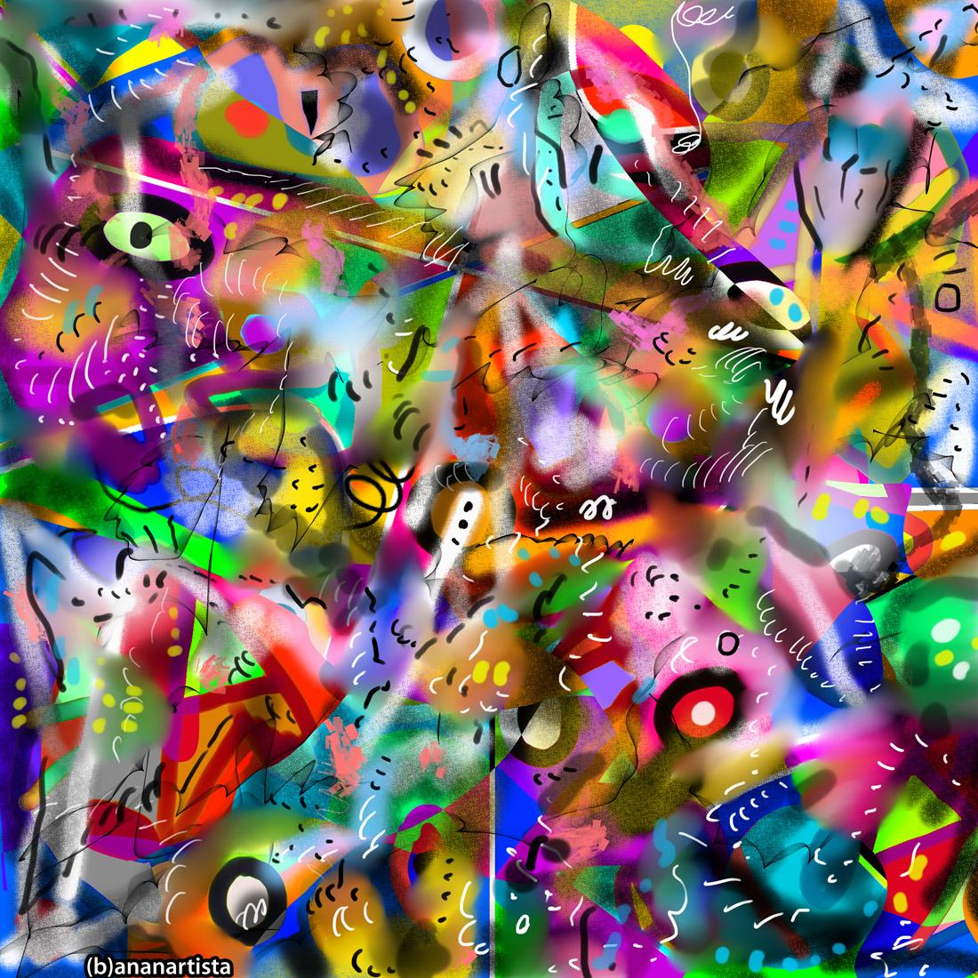 ASINTOTO: abstract digital art by (b)ananartista sbuff