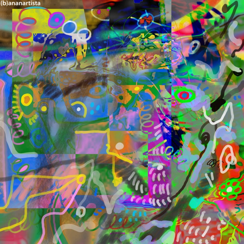 omaggio a gesualdo bufalino: digital art di (b)ananartista sbuff
