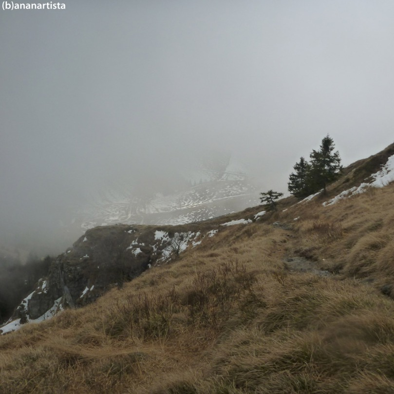 paesaggio alpino con nebbia: fotografia di (b)ananartista sbuff
