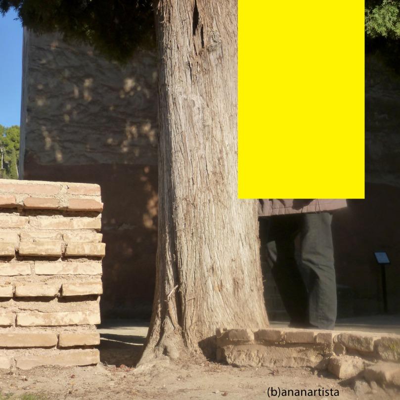yellow quadrilateral man cloning by (b)ananartista sbuff
