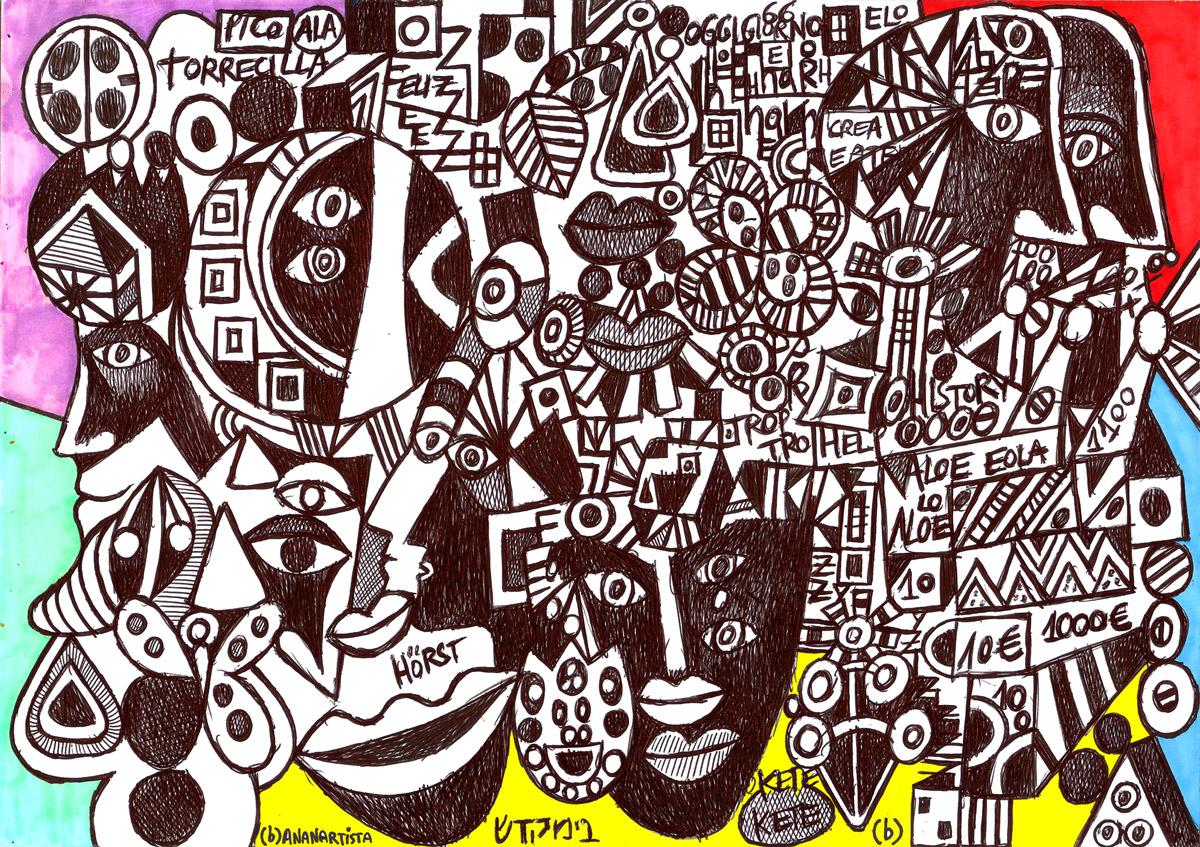 aloe in sierra nevada: artwork by (b)ananartista sbuff